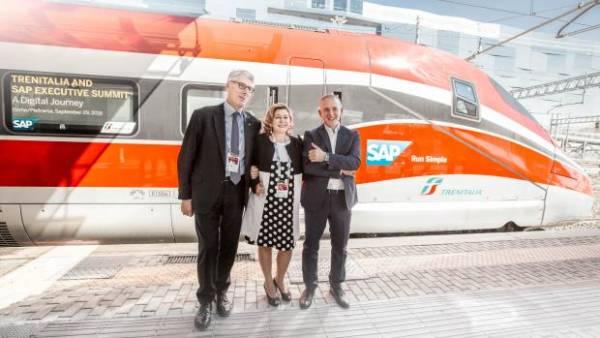 Trenitalia obtém redução de custos em manutenção com SAP