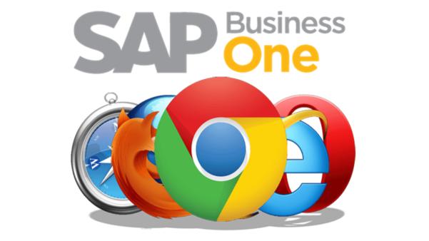 Acesse o SAP Business One a partir de um navegador