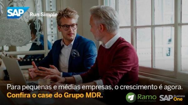 MDR implantou SAP Business One, adquirindo dinâmica na tomada de decisões.