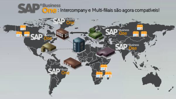 SAP Business One: Os add-ons Intercompany e Multi-filiais são agora compatíveis!