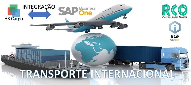 Integração HS Cargo e SAP Business One - Transporte Internacional