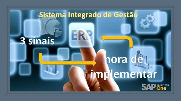 3 sinais que lhe dizem que é hora de implementar um sistema ERP