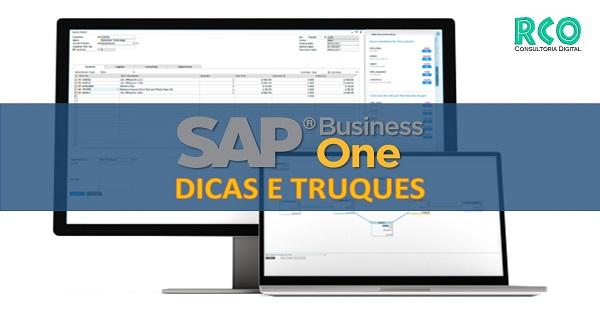 SAP B1 - Dicas e Truques