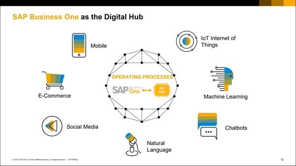 SAP Business One como Hub Digital
