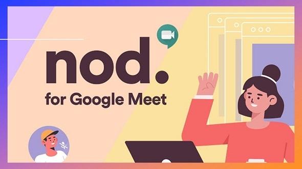 Nod Reactions for Google Meet foi criada: ele adiciona um painel perfeitamente sensível ao canto superior esquerdo da tela do Meet com uma série de reações com um único clique.