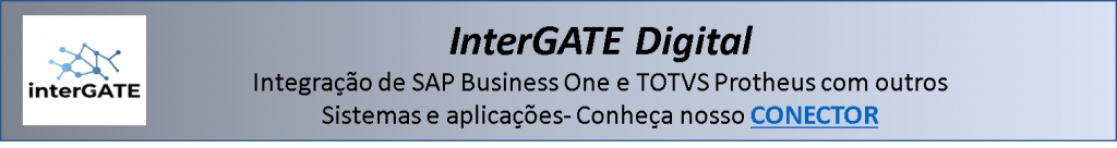 InterGATE integração de sistemas