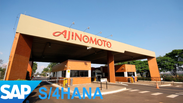 a multinacional Ajinomoto adotou oSAP S/4 Hanacomo seu sistema de gestão